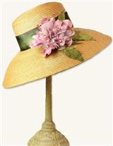 Peony Portrait Hat And Hatbox