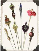 Beautiful Hatpins (Set Of 8)