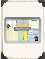 Vintage Office Sticky Notes