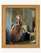 The Elegant Bathroom Framed Print