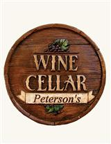 Wine Cellar Custom Plaque