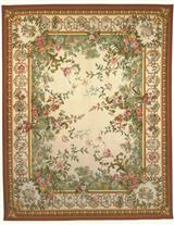 Aubusson Wool Rug 10 X 14 Ia