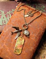 'Fly Home To Me' Chatelaine Necklace