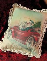 Santa's Delivery Pillow