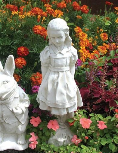 Alice Statue (White Finish)