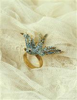 Bluebird Of Happiness Ring