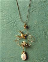 Robin Goodfellow Egg Drop Pendant