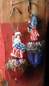 Patriotic Ornaments (Pair)