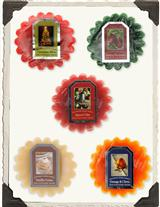 Christmas Tart Sampler (Set Of 5)