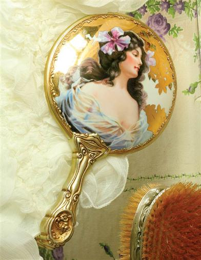 Charlotte's Dream Heirloom Hand Mirror
