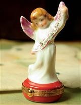 Heavenly Holiday Angel Limoges