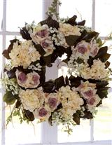 Sterling Rose Wreath