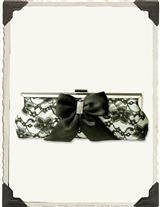 Claudette Lace Clutch