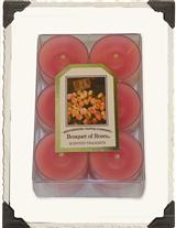 Bouquet Of Roses Tealights (Dozen)