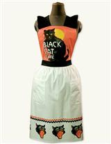 Black Cat Cafe Apron