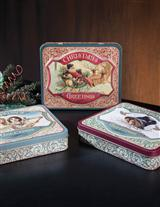 Holiday Confections Tins (Set Of 3)
