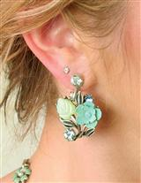 Caterpillar To Butterfly Earrings