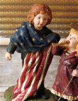 Patriotic Figurines (Tanner's Flag)