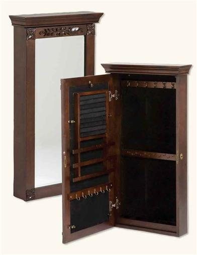 Lady Jane Mirror And Jewelry Hide