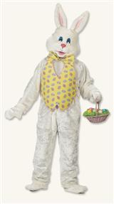 Easter Bunny With Egg Vest Costume