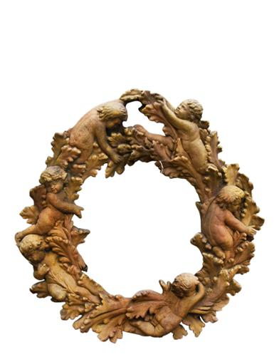 Cherub Wreath