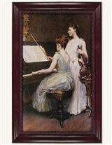 The Sonata Framed Print
