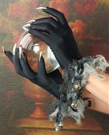 Silvery Claw Gloves
