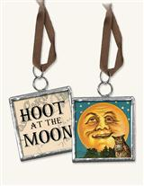 Hoot At The Moon Pendant