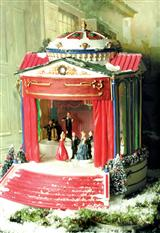 Waltzers Christmas Music Box