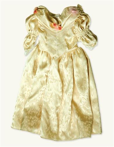 Young Victoria's Ivory Gala Dress