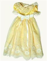 Young Victoria's Yellow Coronation Dress