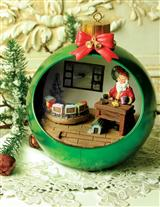 Santa's Workshop Ornament Diorama