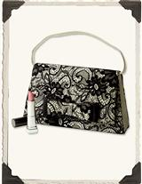 Iconic Satin & Lace Purse