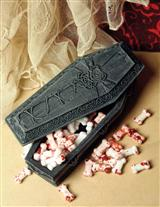 Bone Candy In A Gothic Coffin