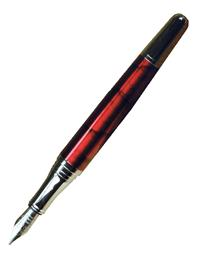 Crimson Fountain Pen
