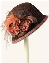 Autumn Bloom Lace Cloche