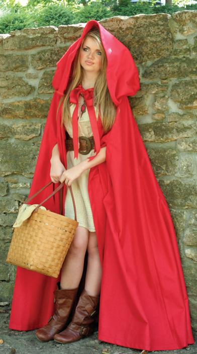 Li'l Red Riding Hood Cape