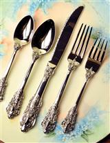 Baroque Cutlery (5 Pc. Place Setting)