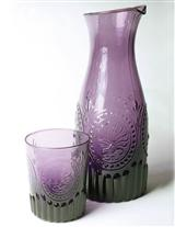Amethyst Glass Carafe