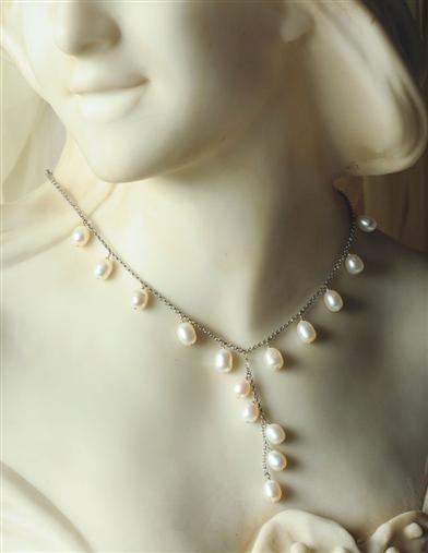 Myriad Moondrops Freshwater Pearl Necklace