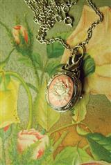 Sweet Time Cameo Watch Pendant