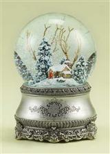 Cozy Cottage Snowglobe
