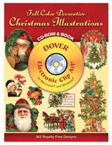 Christmas Illustrations Cd Book