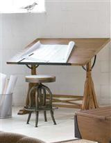 Artist Tilt Table & Stool