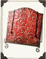 Embossed Vine Cookbook Stand