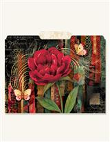Gothic Rose File Folders