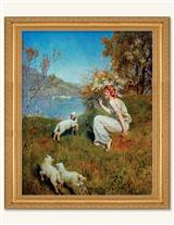 A Tune For The Lambs Framed Print