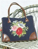 Radcliffe Needlepoint Tote