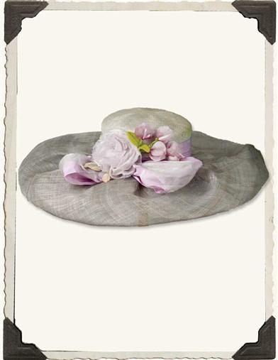 Louise Green Lilac Garden Society Hat