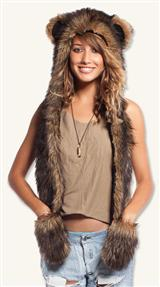 Grizzly Bear Spirit Hood